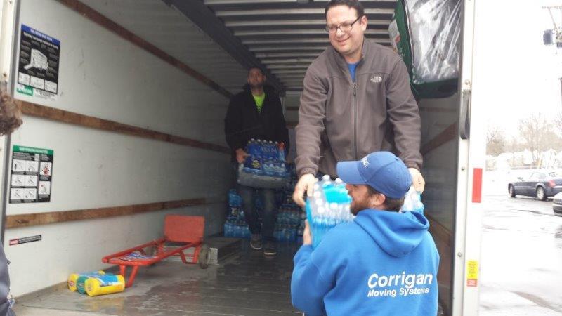 Flint Jewish Federation Water Donations 2