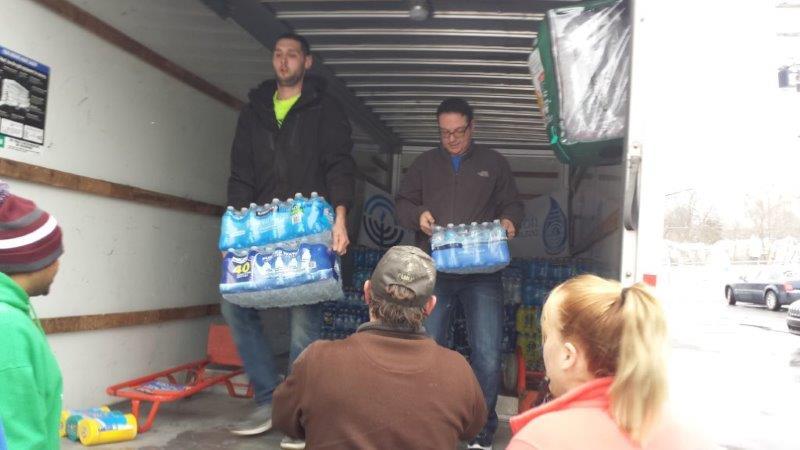 Flint Jewish Federation Water Donations 3