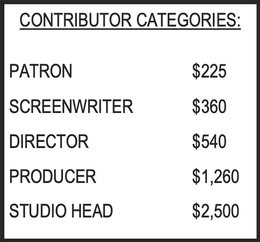 May Film Fest Donations