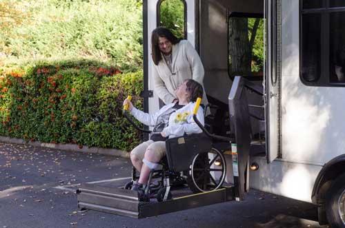 Transportation Van Wheelchair